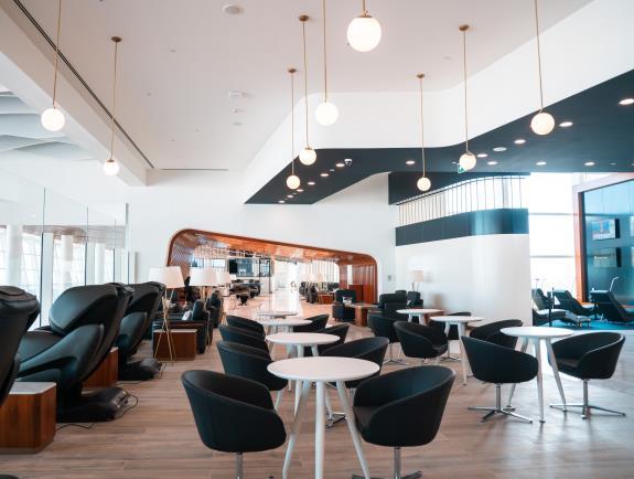 Gulf Air Lounge: Falcon Gold Lounge