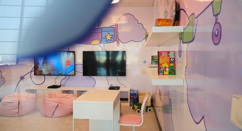 Unaccompanied Minors Lounge